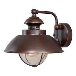 Vaxcel International Harwich 10In. Outdoor Wall Light