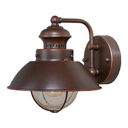 Vaxcel International Harwich 8In. Outdoor Wall Light
