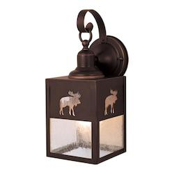 Vaxcel International Yellowstone 5In. Outdoor Wall Light