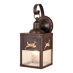 Vaxcel International Bryce 5In. Outdoor Wall Light Bbz (Deer)