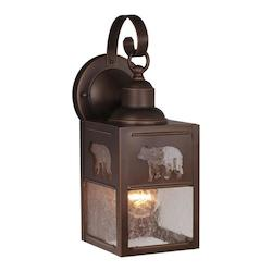 Vaxcel International Bozeman 5In. Outdoor Wall Light Bbz (Bear)