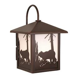 Vaxcel International Bozeman 8In. Outdoor Wall Light Bbz (Bear)