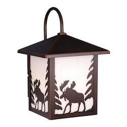 Vaxcel International Yellowstone 8In. Outdoor Wall Light