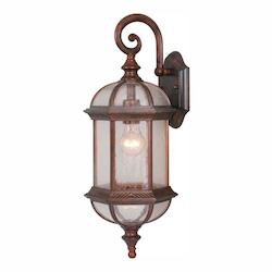 Vaxcel International Chateau 8In. Outdoor Wall Light