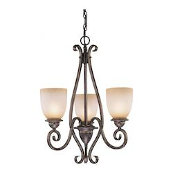 Vaxcel International Mont Blanc Energy Star 3L Chandelier