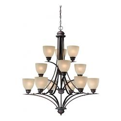 Vaxcel International Avalon 12L Chandelier