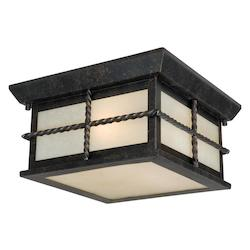 Vaxcel International Savannah 10In. Outdoor Ceiling Light