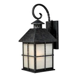 Vaxcel International Savannah 8In. Outdoor Wall Light