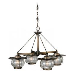 Vaxcel International Jamestown 4L Chandelier