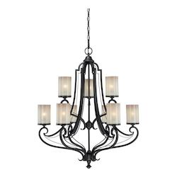Vaxcel International Elba 9L Chandelier