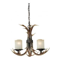Vaxcel International Yoho 3L Chandelier