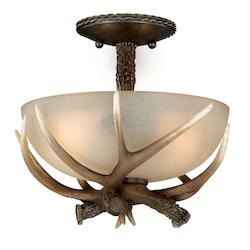 Vaxcel International Yoho 12In. Semi-Flush Ceiling Light