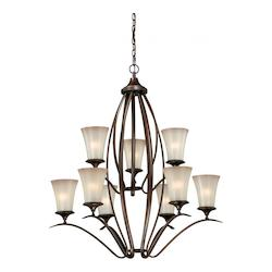 Vaxcel International Sonora 9L Chandelier