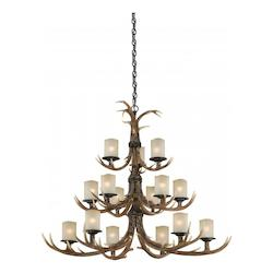 Vaxcel International Yoho 15L Chandelier