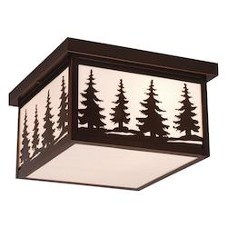 Vaxcel International Yosemite 12In. Outdoor Ceiling Light