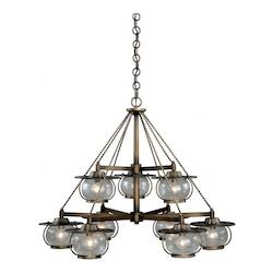 Vaxcel International Jamestown 9L Chandelier