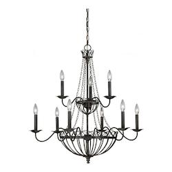 Vaxcel International Novara 9L Chandelier