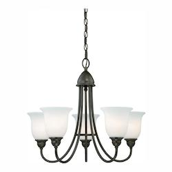 Vaxcel International Concord 5L Chandelier