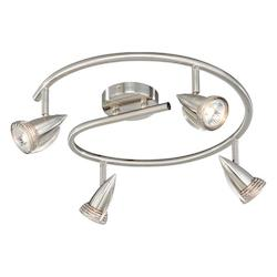Vaxcel International 4 Light Line Voltage Spot Light