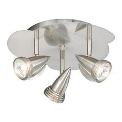 Vaxcel International 3 Light Line Voltage Ceiling Light