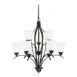 Vaxcel International Darby 9L Chandelier