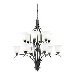 Vaxcel International Darby 12L Chandelier