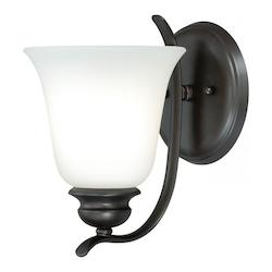 Vaxcel International Darby 1L Vanity Light