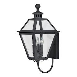 Vaxcel International Nottingham 12In. Outdoor Wall Light