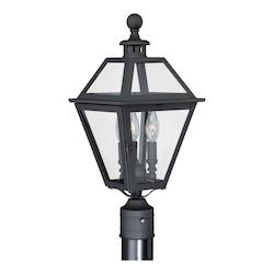 Vaxcel International Nottingham 9In. Outdoor Post Light