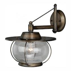 Vaxcel International Jamestown 1L 13-1/2In. Wall Light