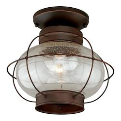 Vaxcel International Chatham 13In. Outdoor Semi-Flush Mount