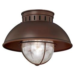 Vaxcel International Harwich 10In. Outdoor Flush Mount