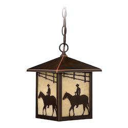 Vaxcel International Trail 8In. Outdoor Pendant