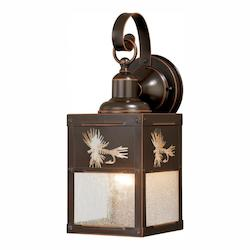 Vaxcel International Mayfly 5In. Outdoor Wall Light