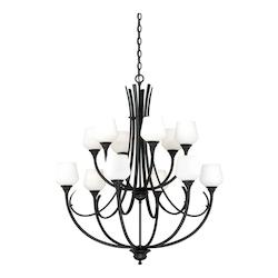 Vaxcel International Grafton 12L Chandelier