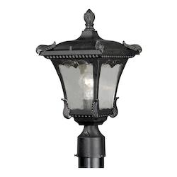 Vaxcel International Castile 8-5/8In. Outdoor Post Light