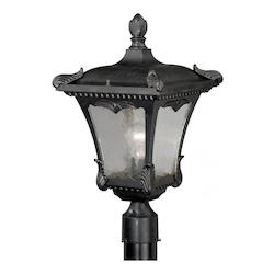 Vaxcel International Castile 11In. Outdoor Post Light