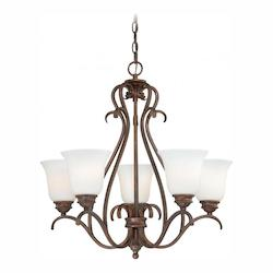 Vaxcel International Hartford 5L Chandelier