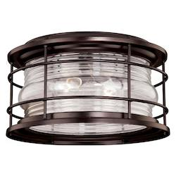Vaxcel International Open Box Hyannis 12-5/8In. Outdoor Flush Mount