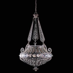 Lumenno Int Prague Collection (Large) Pendant  In A  Bronze Finish With A Gold & Silver Wash
