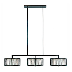 Lumenno Int Dublin Collection 6 Light Island Light In A Bronze Finish