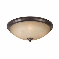 Lumenno Int Athens Collection 4 Light Flush Mount On A Bronze Finish