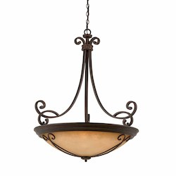 Lumenno Int Budapest Collection (Large) 10-Light Pendant In A Bronze Finish