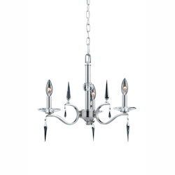 Lumenno Int Silhouette Collection 3 Light Mini Chandelier