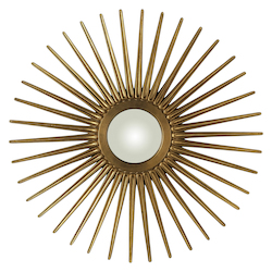Cooper Classics Heather Sunburst Mirror