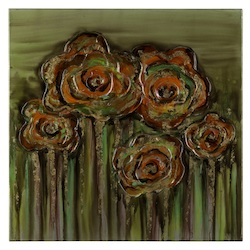 Cooper Classics Abstract Poppies