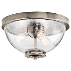 Kichler Classic Pewter Silberne 3 Light 18