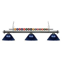 Z-Lite 3 Light Billiard Light