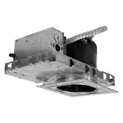 WAC US Ledme 4In. Recessed Downlight With Emergency Backup - New Construction Invisib