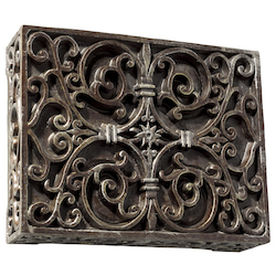 Teiber Lighting Products Carved Box Chime